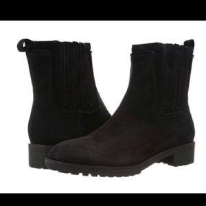Via Spiga black suede Chelsea boots 8.5